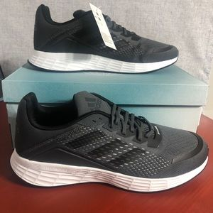 NEW Adidas Duramo SL Womens 11.5 Running Shoes Black Athletic Trainer Sneakers